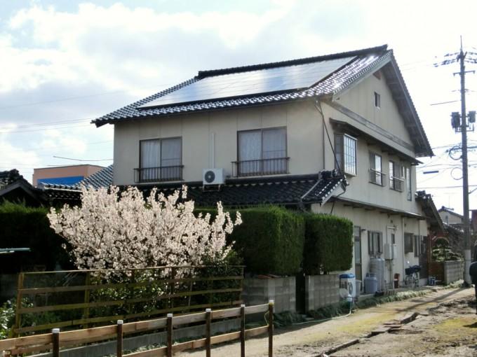 太陽光パネル設置 鳥取県米子市 M邸  写真