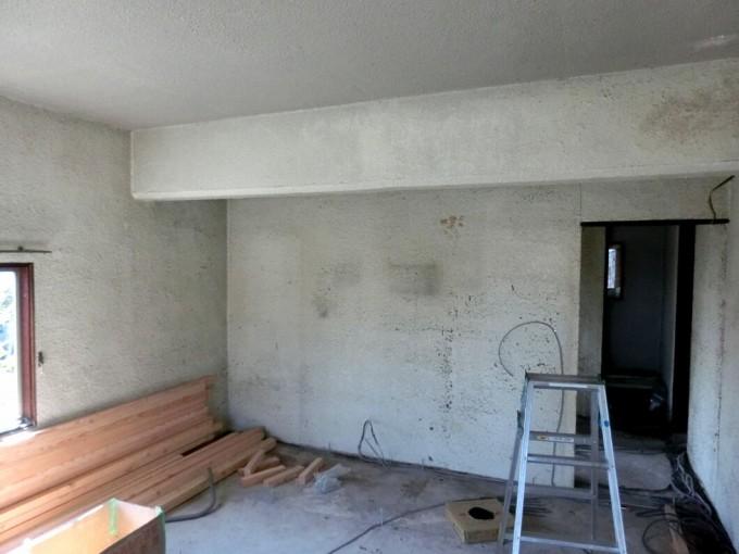 内装塗装工事 H邸 総社市  施工前