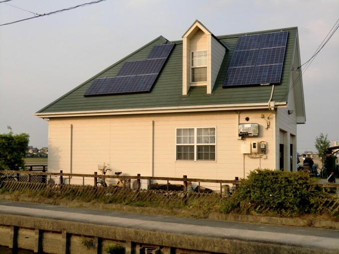 太陽光 岡山市中区 K邸 2011.4 写真