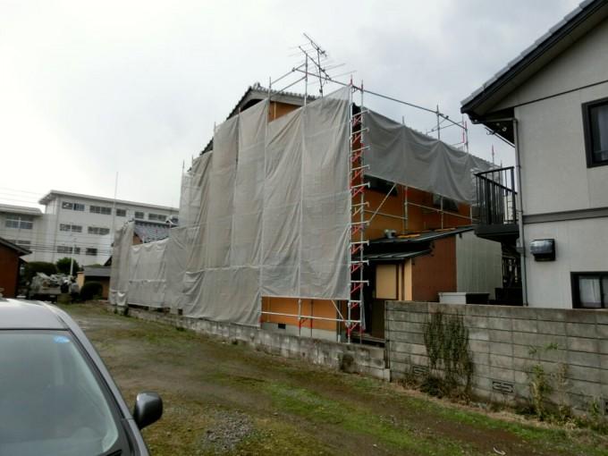 外壁塗装工事 島根県松江市 T邸  施工前