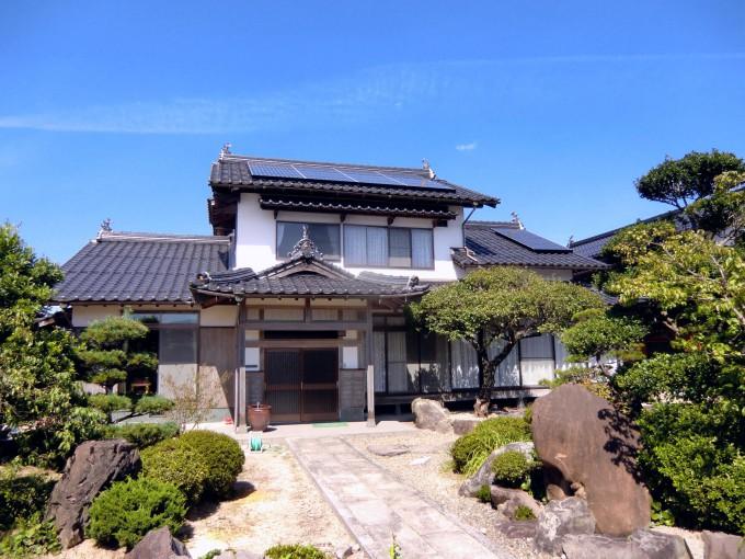 太陽光 鳥取県西伯郡南部町法勝寺 K邸 2011.9 写真
