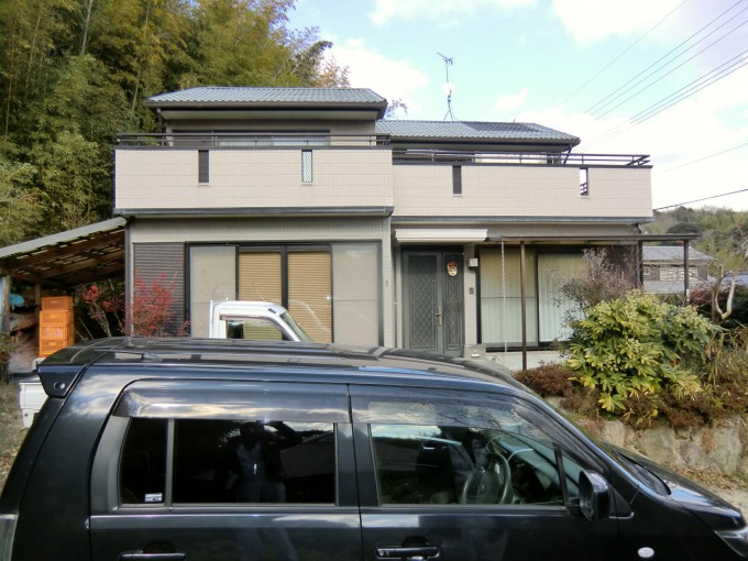 太陽光発電、オール電化工事 瀬戸内市長船町 N邸 2012.1 施工前