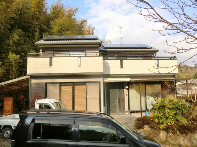 太陽光発電、オール電化工事 瀬戸内市長船町 N邸 2012.1 施工後