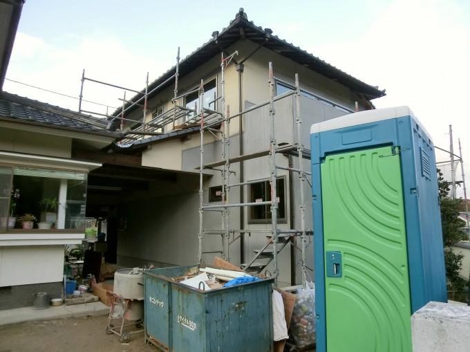 外壁塗装工事、内装木部 岡山市北区田原 W邸 施工前