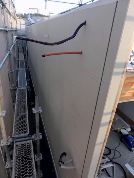 外壁 サイディング張り工事 岡山市中区 施工後