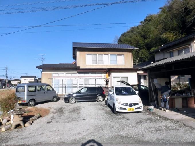 屋根葺き替え工事(瓦からガルバニュウム板金)松江市東出雲町 M邸 施工後