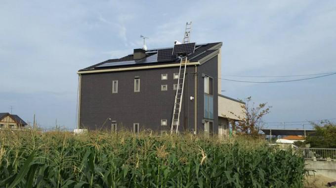 太陽光発電パネル工事 南区浦安南町 Y邸 写真
