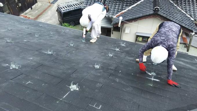 太陽光発電パネル工事 島根県益田市 写真