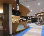 イオンモール広島府中3F厨房床の防滑工事(滑り止め)