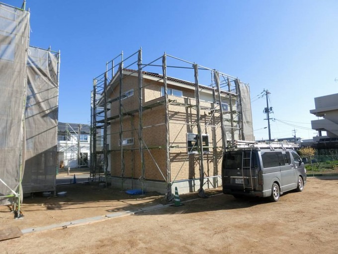 サイディング 岡山市南区 新築  写真