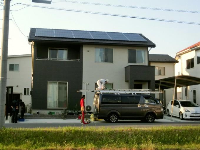 太陽光発電工事 Y様 島根県松江市 写真