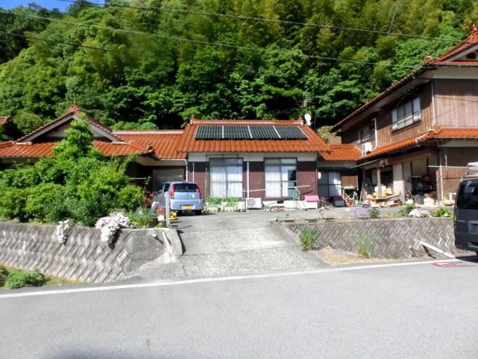 太陽光発電工事 S様 島根県浜田市 施工後