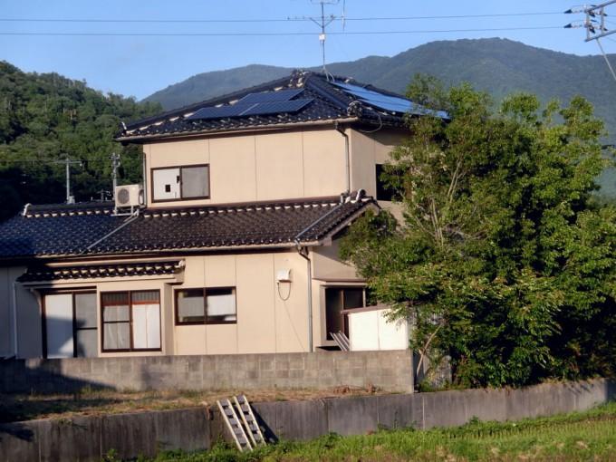 太陽光発電工事 T様 鳥取県岩美町 写真