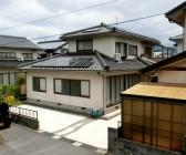 太陽光発電工事 N様 鳥取県三朝町