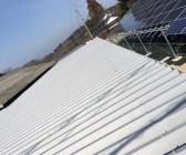 折半屋根塗装工事 K様 吉備中央町